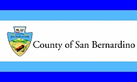 San Bernardino county (California), flag