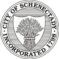 Schenectady (New York), seal (black & white)