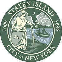 Staten Island (borough in New York City), seal (2016)