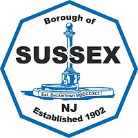 Sussex (New Jersey), seal
