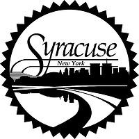 Syracuse (New York), Logo (schwarz-weiß)