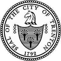 Trenton (New Jersey), Siegel (schwarz-weiß)