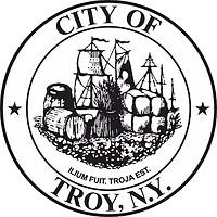 Troy (New York), Siegel (schwarz-weiß)