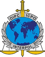 International Criminal Police Organization (ICPO, Interpol), emblem