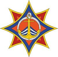 Векторный клипарт: Государственная инспекция по маломерным судам МЧС Беларуси, эмблема