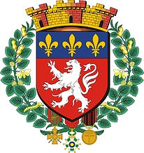 Lyon (France), large coat of arms