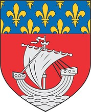 Paris (department in France), small coat of arms