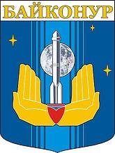Baikonur (Kazakhstan), coat of arms