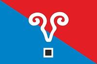 Kysyl (Kreis in Tuwa), Flagge