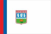 Abakan (Khakassia), flag (2003)
