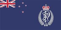 Neuseeländische Polizei, Flagge