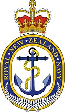 Royal New Zealand Navy (RNZN), crest