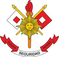 Peruvian Army Communication (Signal) Forces, emblem