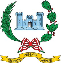 Peruvian Army Engineer Forces, emblem