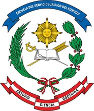 Peruvian Army Legal Service, emblem