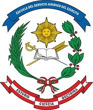 Peruvian Army Legal Service, emblem
