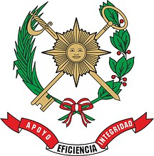 Peruvian Army Quartermaster Service, emblem