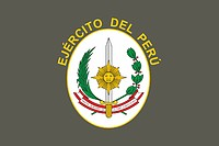 Peruvian Army, flag