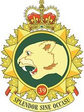 39th Canadian Brigade Group, emblem