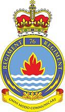 Canadian Forces 76th Communication Regiment, emblem