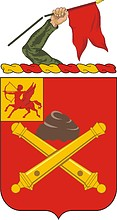 U.S. Army 10th Field Artillery Regiment, coat of arms