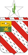 U.S. Army 8th Field Artillery Regiment, coat of arms