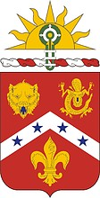 U.S. Army 3rd Field Artillery Regiment, coat of arms