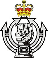 British Royal Armoured Corps (RAC), badge