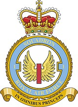 British RAF 1st Squadron, emblem