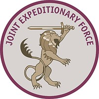 UK-led Joint Expeditionary Force (JEF), emblem