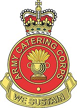 British Army Catering Corps (ACC), badge