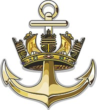 British Navy, emblem (naval crest) before 1919