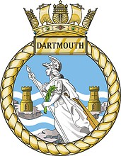 Britannia Royal Naval College (BRNC, Dartmouth), emblem