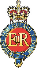 British Army Household Cavalry, badge