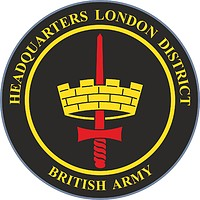 British Army Headquarters London District (LONDIST), emblem (car badge)