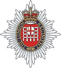British Army London Regiment, badge