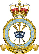 Royal Air Force Music Services, badge