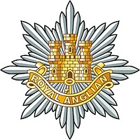 British Army Royal Anglian Regiment, badge