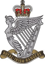 British Army Royal Irish Rangers, badge