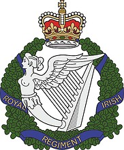 British Army Royal Irish Regiment, badge