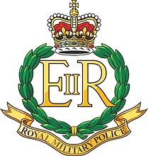 British Royal Military Police, badge