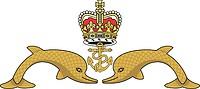 British Royal Navy Submarine Service, badge