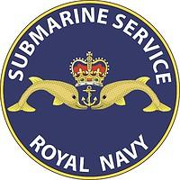 British Royal Navy Submarine Service, emblem