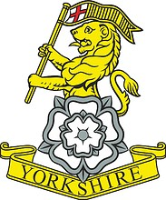 British Army Yorkshire Regiment, badge
