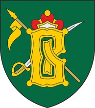 Lithuanian Grand Duchess Birutė Mechanized Uhlan Battalion, emblem