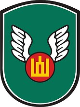Lithuanian Army Movement Control Centre, emblem