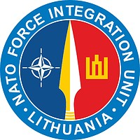 NATO Force Integration Unit (NFIU) Lithuania, emblem