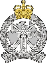 Australian Army Legal Corps (AALC), badge