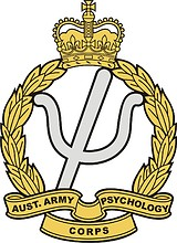 Australian Army Psychology Corps (AA Psych Corps), badge