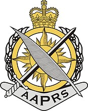 Australian Army Public Relations Service (AAPRS), badge